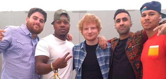 Rudimental, Lay it all on me, Ed Sheeran